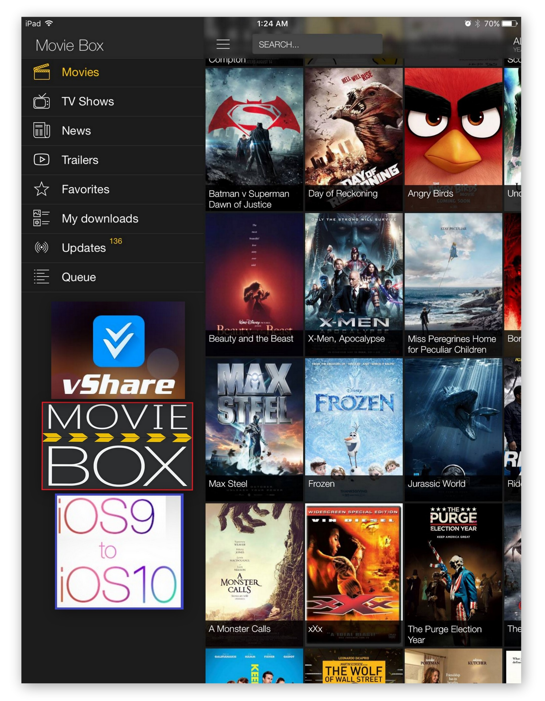 MovieBox with vShare